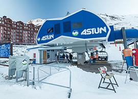 astun ski